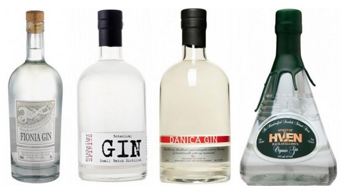 De danske ginflasker